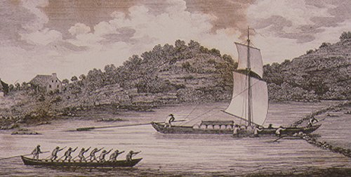 Early Mohawk River Boats