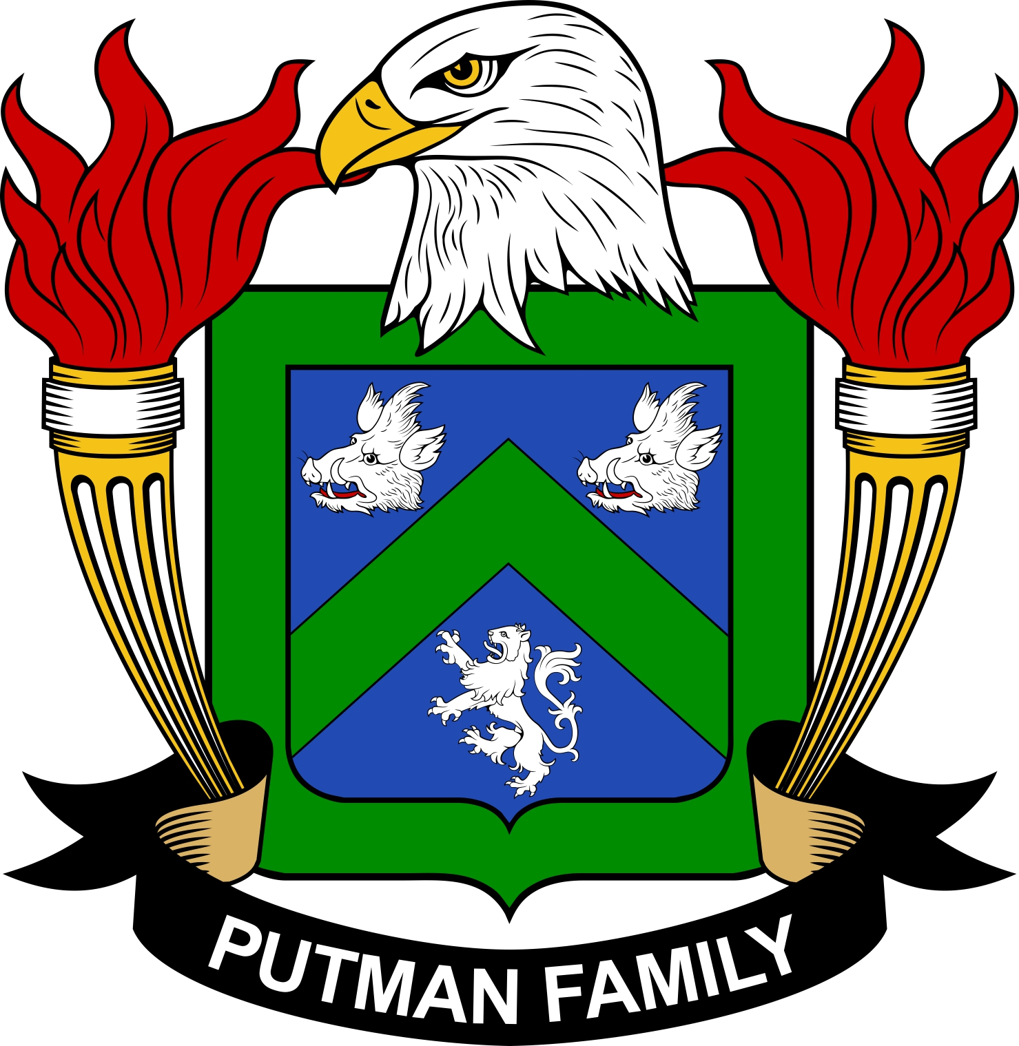 The Putman Family Coat of Arms